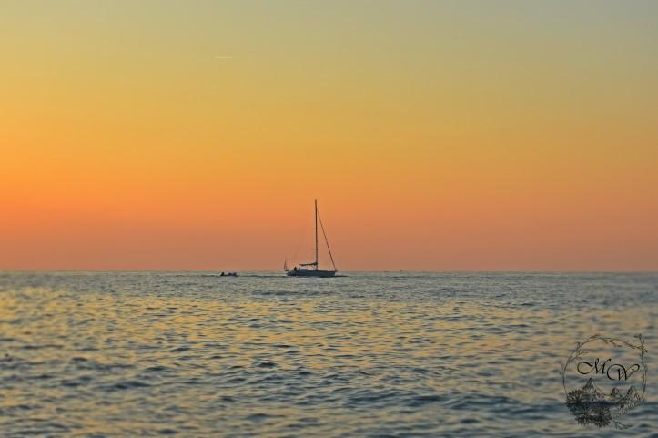 Sailboat at Sunset MI